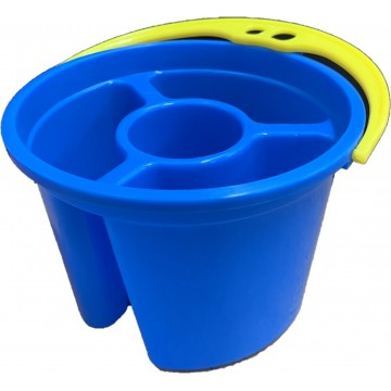 Brush Washer with Divider